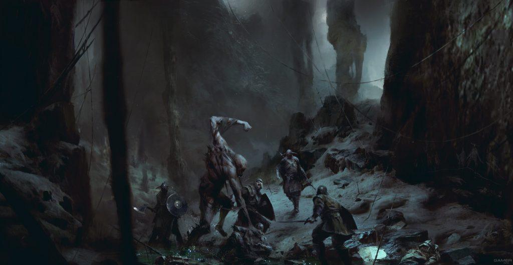 Арт из игры Project Wight