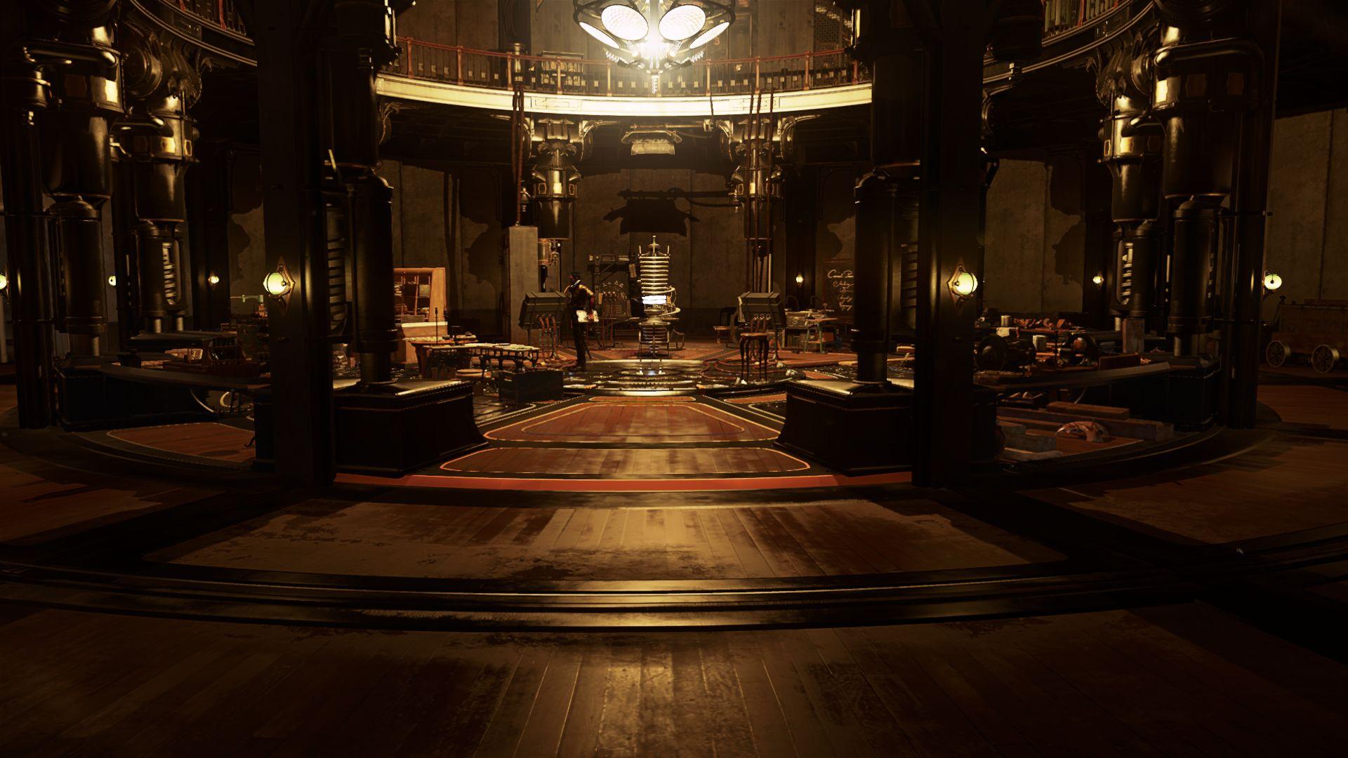 Поместье изобретателя Kirin Jindosh из Dishonored 2
