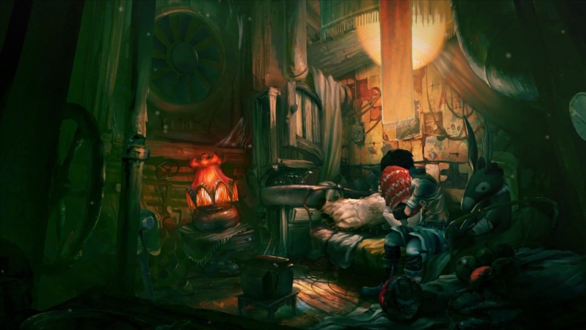 Скриншот из игры Silence