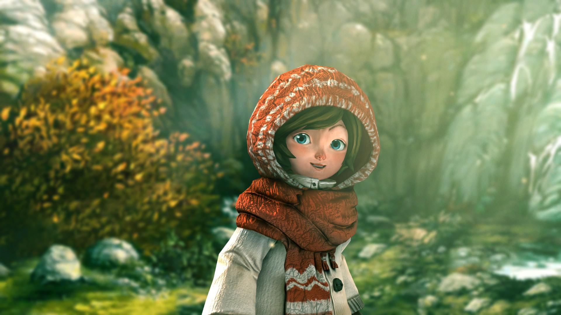 Скриншот из демоверсии игры Silence
