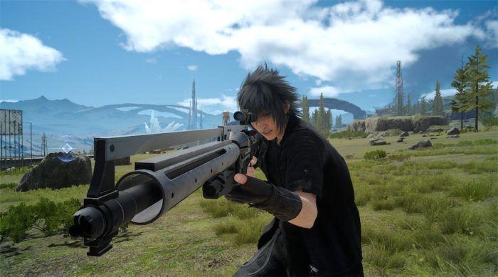 Скриншот Ноктиса из Final Fantasy XV