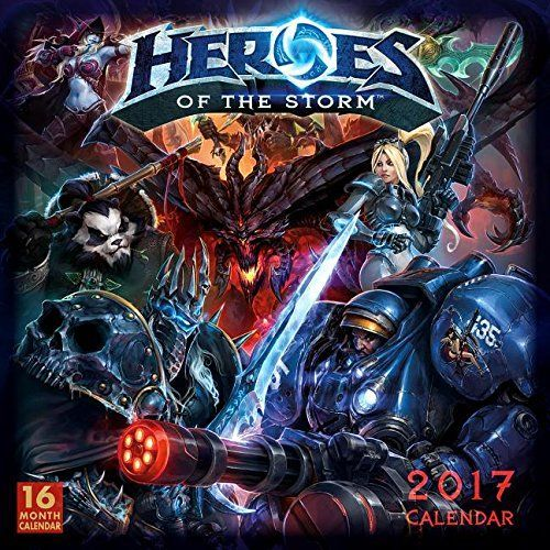Настенный календарь Heroes of the Storm 2017