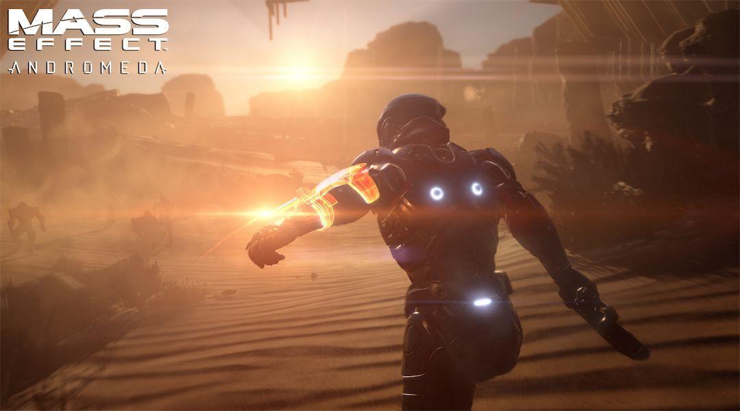 Скриншот из игры Mass Effect Andromeda