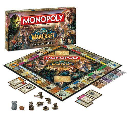 Монополия World of Warcraft Коллекционное Издание