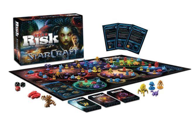 Настольная игра RISK: Starcraft Коллекционное Издание