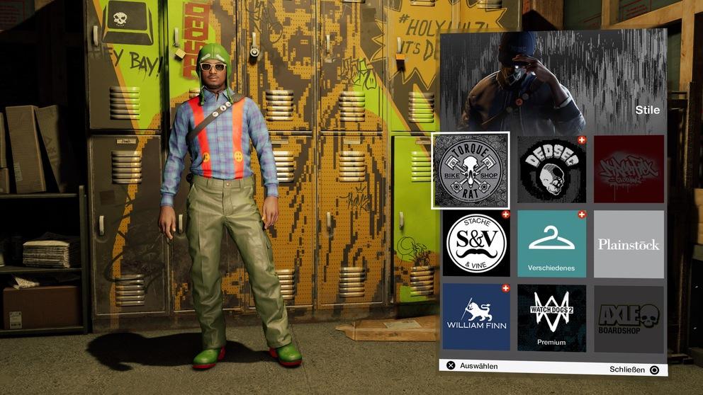 Скриншот из Watch Dogs 2. Эксклюзивный костюм гнома