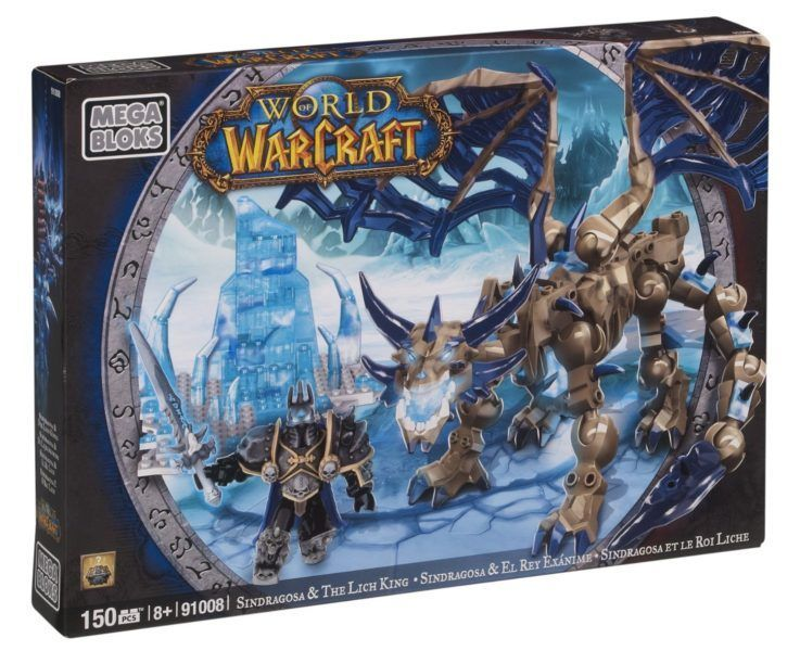 Конструктор World of Warcraft Sindragosa & The Lich King