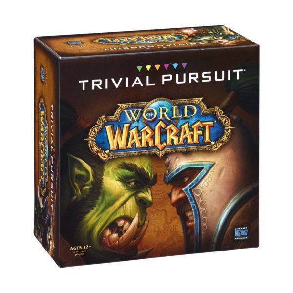 Настольная игра Trivial Pursuit: World of Warcraft