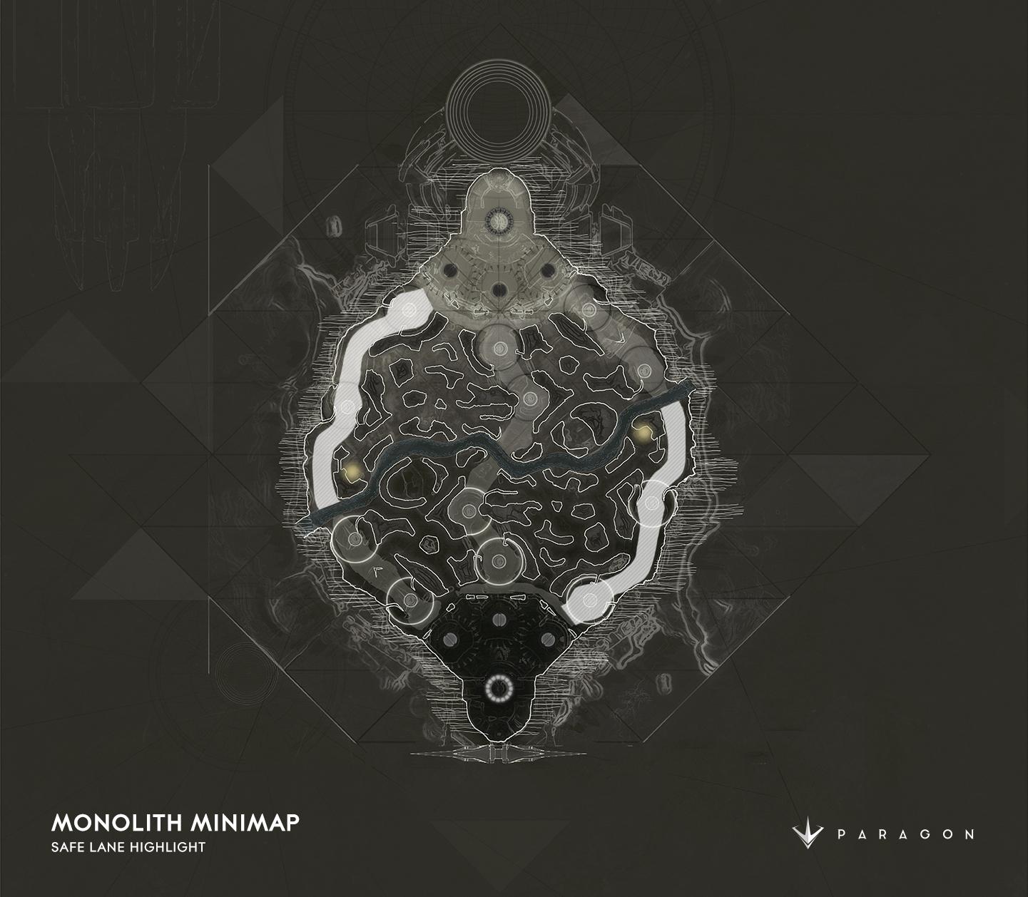 Изменённая карта в Paragon после обновления Monolith